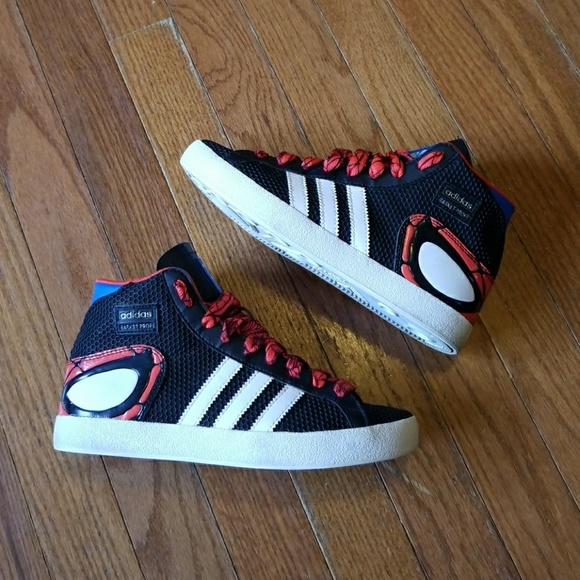 spiderman adidas shoes